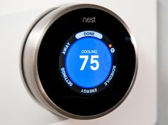 Considering a heating and cooling upgrade? Here's everything you need to know about smart thermostats. Nest Smart Thermostat, Home Thermostat, Home Upgrades, Learning Process, Heating And Cooling, Smart Home, Save Energy, Connection
