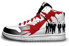 Nike Dunk / Reservoir Dogs Want so bad Nike Heels, Nike Wedges, Nike Design, Logo Design, Reservoir Dogs, Nike Joggers, Nike Leggings, Nike Dunks, Cultura Pop