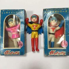 gatchaman anime 70s vintage vinyl toy sofubi figure  #gatchaman #sofubi #vintage #toy
