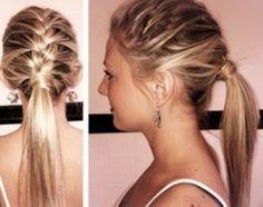 braid/pony tail
