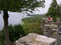 Door County view from Peninsula Park