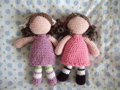 Les poupées sans visage au crochet - Doumyati