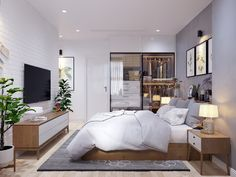 69 Trendy Home Design Modern Scandinavian Style Scandinavian Bed Frames, Scandinavian Style Home, Scandinavian Bedroom, Scandinavian Design, Home Design, Modern House Design, Bed Design, Modern Interior Design, Design Interiors