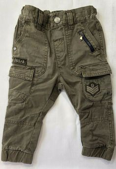 Front and back pockets. Boys Jogger Pants, Kids Pants, Jogger Sweatpants, Uk Brands, Manish, Green Fashion, Baby & Toddler Clothing, Next Uk, Army Green
