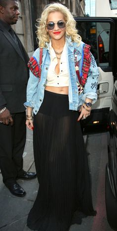 Rita Ora at LFW