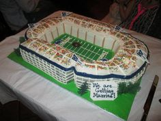 Beaver Stadium cake for rehearsal dinner!