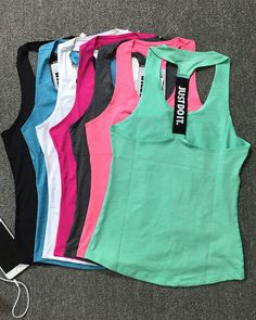 568be2cd8053d 2018 Women Quick-Drying T Shirt Top Tunning Fitness Sport Vest Crop Yoga  Sleeveless Tank