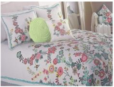 Cynthia Rowley bedding.
