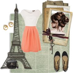 """Night Out In Paris"" by victoria708 on Polyvore"