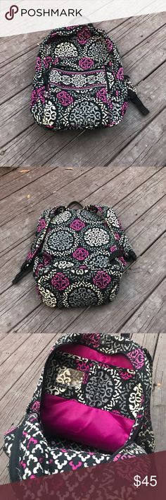 Vera Bradley Backpack ❤️ Perfect Christmas present! Love this! Downsizing my closet so looking to sell this! Only used probably 3 times. Will wash before shipping it! Bought at the Vera Bradley in MN! Vera Bradley Bags Backpacks