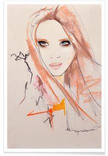 Marianne 2 - Leigh Viner - Affiche premium