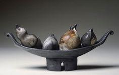 Sculptural Pottery: Quartetto