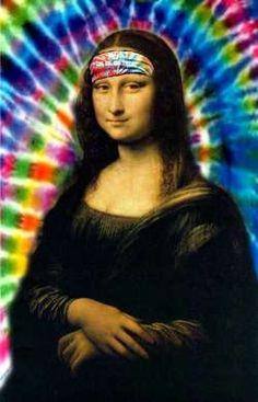 hippy mona lisa