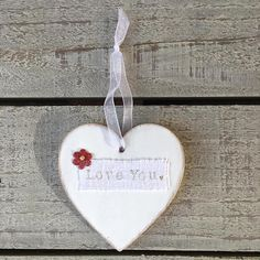 Valentines Gift for Him Her Personalised Wooden Heart Door
