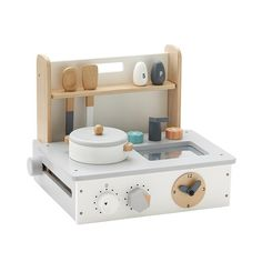 Wooden Toy Cooker Flexa Play Children- A large selection of Toys and Hobbies on Smallable, the Family Concept Store - More than 600 brands.
