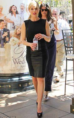 julie benz + dress