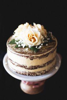 Salted Honey and Orange Blossom Naked Cake