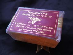 Frankincense Aromatherapy Soap - Handmade in OMAN