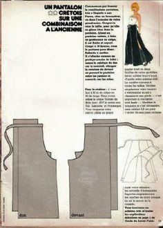 patron pantalon crétois 100 idées is creative inspiration for us. Get more photo about home decor related with by looking at photos gallery at the bottom of this page. We are want to say thanks if you like to share this post to another people via your facebook, pinterest, google …