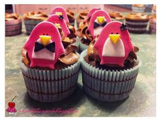 Pink Penguin Cupcakes!!!