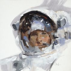 Astronaut Gregory Manchess