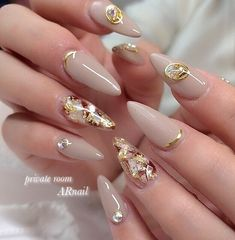 25 elegant nail art designs for prom 2019 33 25 elegant nail art designs for prom 2019 33 Fancy Nails, Love Nails, My Nails, Gorgeous Nails, Pretty Nails, Elegant Nail Art, Uñas Fashion, Nagellack Trends, Japanese Nail Art
