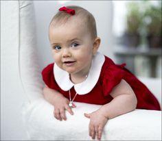 The newest Princess of Sweden. Princess Estelle, she turnes on in February.   BLID: prinsesse Estelle fyller ett år 23 februar neste år. Foto: Kate Gabor/Kungahuset.se