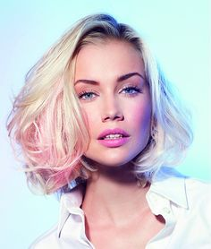 loreal #Hairstyles | A Touch Of Pink