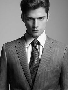 The cold, intense eyes in that exquisitely chiseled face...  Oh yeah. Paris all the way. (model: sean o'pry)