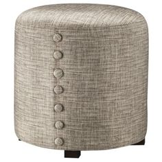 Accent Furniture with Button Detail - Gray