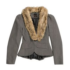 Fur trim (faux fur only!) adds texture and classic femme style to any jacket. #iRockLEGIT
