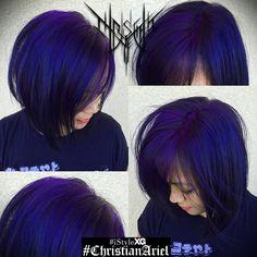 beautiful color with pravana - purple