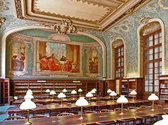 Salle de Lecture à La Sorbonne — Paris, France