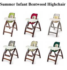 Check my review on Summer Infant Bentwood Highchair for babies and toddlers, a Compact, Reclined, Comforting and latest grow with baby portable highchair.