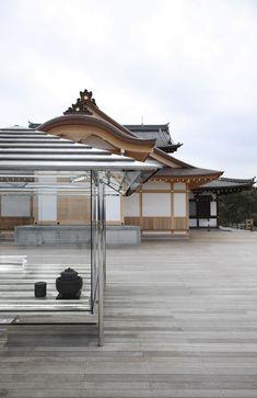 Making Time Visible: Tokujin Yoshioka's Glass Tea House in Kyoto, Japan | http://www.yatzer.com/kou-an-glass-tea-housa-tokujin-yoshioka