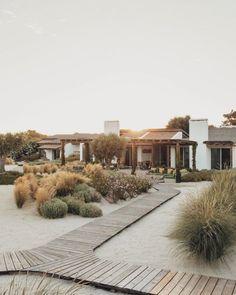 Outdoor Living Rooms, Outdoor Spaces, Landscape Design, Garden Design, House Design, Costa, Portugal, Desert Homes, Beach Gardens