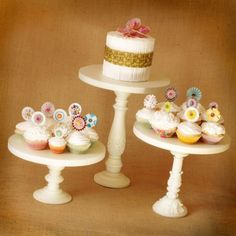 Google Image Result for http://bios.weddingbee.com/pics/208221/Vintage-White-Cake-Stands.jpg
