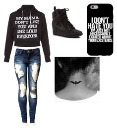 """Untitled #40"" by destiny-hope00 ❤ liked on Polyvore featuring NIKE"