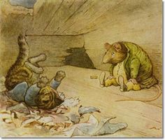Beatrix Potter - The Roly-Poly Pudding
