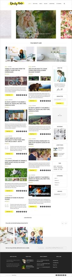 Kitchen \ Bathroom Renovation Website Theme Template Website - daily note template