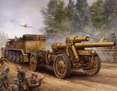 150mm schwere Feldhaubitze 18, 1944 BFD