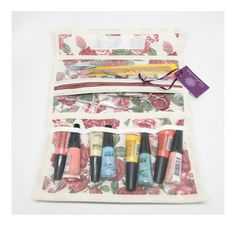 Estojo porta esmaltes - kit manicure
