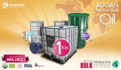 Huge Argan Oil inbulk Quantity ! from 5 Lt to 1000 Lt containers ( plastics and metals materials ) www.zineglob.com