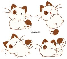 Cute Cat by Daieny.deviantart.com on @DeviantArt