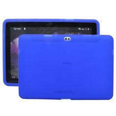 Soft Shell Transparent (Blå) Samsung Galaxy Tab 10.1 P7500 Cover