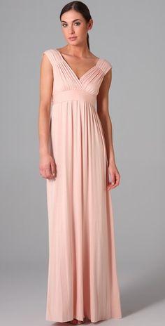 Blush Rachel Pally Dress for Bridesmaids.