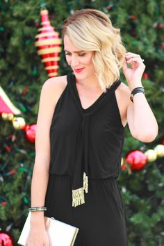 Belle de Couture: Holiday Jumpsuit