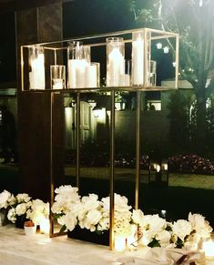 Add some beautiful hand-crafted details to your wedding décor with our unique our hand-crafted selections. Bar Mitzvah Decorations, Wedding Table Centerpieces, Reception Decorations, Event Decor, Haley Davis, Candelabra Centerpiece, Flower Stands, Candle Stand, Sands