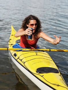 Kayaking...and beer!