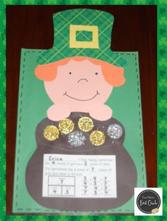Erica Bohrer's First Grade: St. Patricks Day Common Core Activities and a Freebie